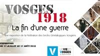 Expo aux Archives départementales : 1918 la fin d'une guerre