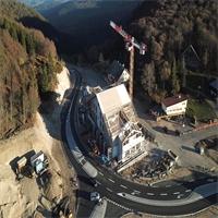 Au Col de la Schlucht les travaux avancent bien !