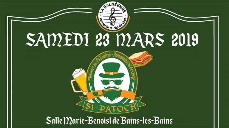 Les Vosges célèbrent la Saint Patrick