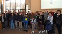 Des Jeunes de Rambervillers et Dogneville visitent le Département