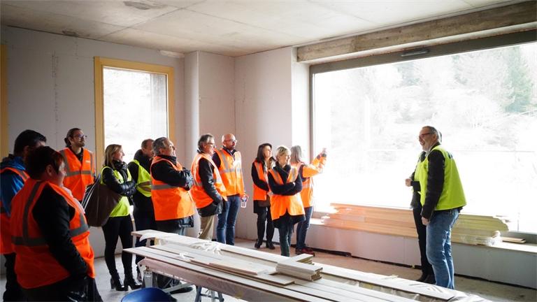 Les « Ambassadeurs des Vosges » en visite au Col de la Schlucht