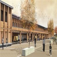Collège Elsa Triolet : le chantier va bon train