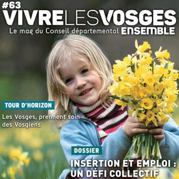 Vivre les Vosges Ensemble - Numéro 63 - avril 2018