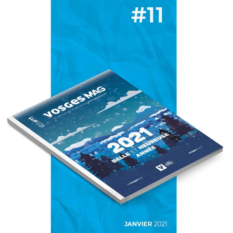 Vosges Mag #11 - Janvier 2021