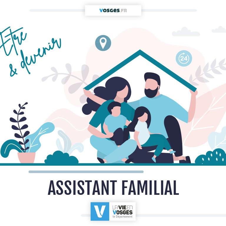 Être et devenir assistant familial